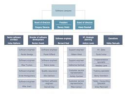 23 Comprehensive Organisational Structure Flow Chart