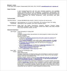 Web Developer Resume Interesting 28 Web Developer Resume Templates DOC PDF Free Premium Templates