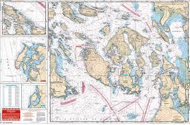 San Juan Islands Nautical Chart