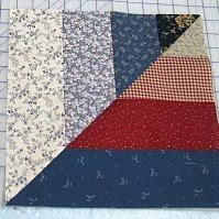 Twisted Rail Fence Quilt Blocks | FaveQuilts.com & Twisted Rail Fence Quilt Blocks Adamdwight.com