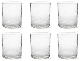 tag bubble glass double old fashion set of 6