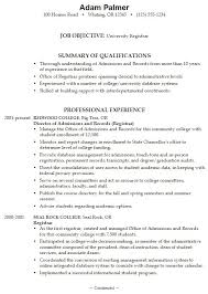 best high school resumes graduate school admissions resume sample archives