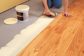 installing an engineered hardwood floor with glue