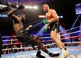 Fury v Wilder heavyweight bout ...