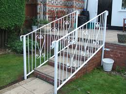 outdoor stair railing home depot