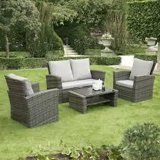 gsd rattan garden furniture 4 piece