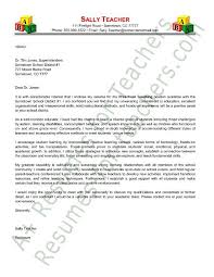 Preschool Teacher Resume Preschool Teacher Cover Letter Sample Application Letter Example