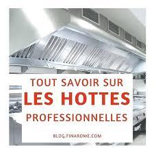 Hotte De Cuisine Professionnelle Doccasion Nettoyage Aspirante