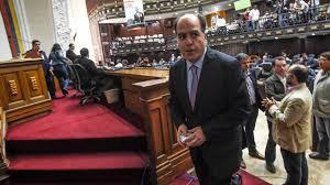 Militär riegelt Parlament in Venezuela ab