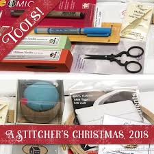 A Stitcher's Christmas, 2018: Needlework Tools for Two ...
