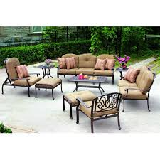 attractive outdoor conversation patio sets 6 top furniture