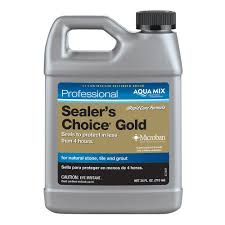 Best Grout Sealer For Kitchen Floor Custom Building Products Aqua Mix Sealers Choice Gold 24 Oz