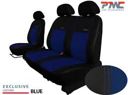 1 eco leather tailored seat covers car