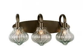 vintage vanity lighting. Nice Vintage Vanity Light Two New Bronze Recycled Handmade Glass Lighting U