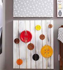 7 buttons and twine on canvas on unique diy wall art ideas with a display that dazzles extra unique diy wall art ideas