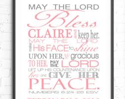 numbers 6 24 26 wall art scripture art may the lord bless you bible verse wall art baby girl nursery personalized gift religious art on numbers 6 24 26 wall art with numbers 6 24 26 wall art vinyl the lord bless you and keep you