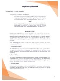 Payment Plan Template Payment Agreement Template Pdf Templates Jotform