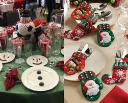 Christmas Table Setting Cheerful And Simply Dccor Christmas Table Setting Ideas Trendy