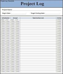 log template