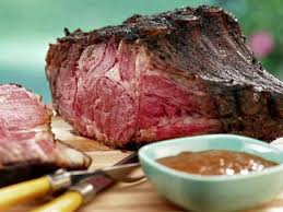 smoked prime rib with red wine steak
