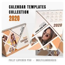 Photoshop Calendar Template 2020 Calendars Collection 2020 V 2