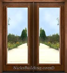 beveled glass doors 1 lite mahogany patio doors mahogany french doors available in 6 8 height