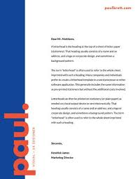 Letter Headed Paper Template Customize 833 Letterhead Templates Online Canva