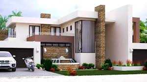 4 bedrooms house plan floor building modern plans south architectural designs free double y africa full