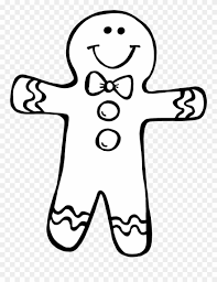 Secrets Gingerbread Girl Coloring Page I Just Finished Gingerbread