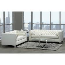 oz living furniture. Oz Modern Ivory Velvet Tufted Nailhead Sofa And Loveseat Living Furniture S