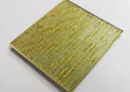 hot melt fused glass wall art panels laminated wire glass for partition