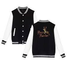 Deerhunter Jacket Size Chart Amazon Com Tattoo Of Deer Hunter Baseball Jacket Uniform