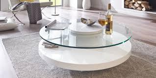 Imposing Couchtisch Wei Rund Sch N Weiss Glas Design 8 Holz Couchtisch Rund Wei Sehremini