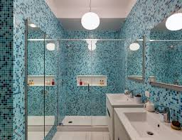 Blue Tiled Bathrooms Dwell Bathrooms With Blue Tile Collection Of 13 Photos By Andrea