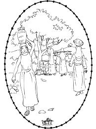 Rebecca 1 Bijbel Kleurplaten Oude Testament