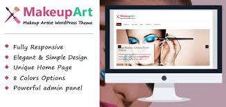 makeupart wordpress theme