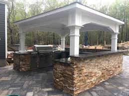 outdoor kitchen roof diy