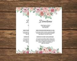 directions insert etsy Wedding Invitation Direction Inserts printable directions insert template info card template editable microsoft word template instant download wedding invitation direction inserts template
