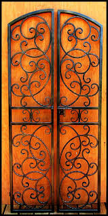 double iron wine cellar door scalloped scroll vineyard winery gate bordeaux ebay