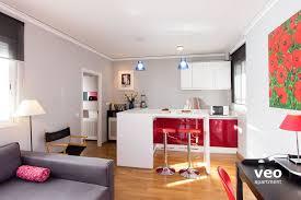 Living Room Bar And Terrace Seville Apartment Hombre De Piedra Street Seville Spain Alameda