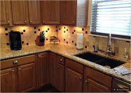 kitchen brown glass backsplash. Glass Tile Backsplash With Granite | Cecilia Brown Kitchen Cabinet Travertine