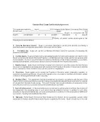 Nda Template For Startup Non Disclosure Agreement Form Template