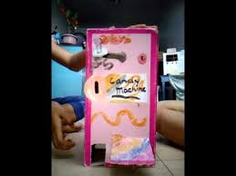 Homemade Candy Vending Machine Gorgeous Homemade Candy Vending Machine YouTube