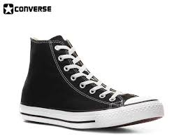converse high tops black mens