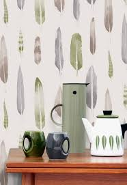 feathers wallpaper by mini moderns the design sheppard
