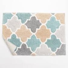 multi color bathroom rugs kohls bath mats splash home softee bath mat bath accessories at 350