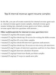 Revenue Agent Sample Resume top224internalrevenueagentresumesamples2245072302242242435lva224app62249224thumbnail24jpgcb=2242437639320 1