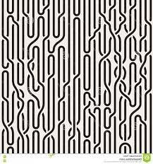 Stock Illustration Vector Seamless Black White Irregular Vertical