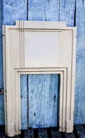 art deco fireplace surround circa porcelain coated art deco style perfect example of art deco period 25 x 41