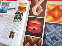 How to make a Bargello quilt (and more strip-tastic wonders) + ... & Eileen-Wright-in-Canadian-Quilter-Magazine Adamdwight.com